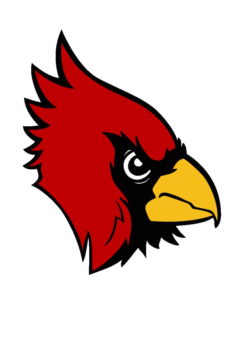 Ellendale Cardinal Logo Head