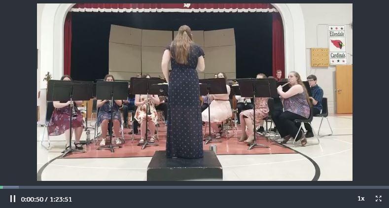 Photo of High School Concert