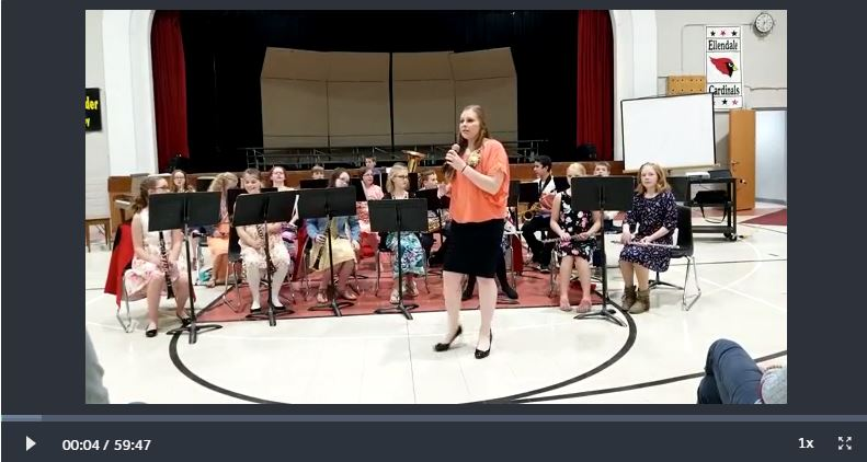 Image of Spring Concert Video
