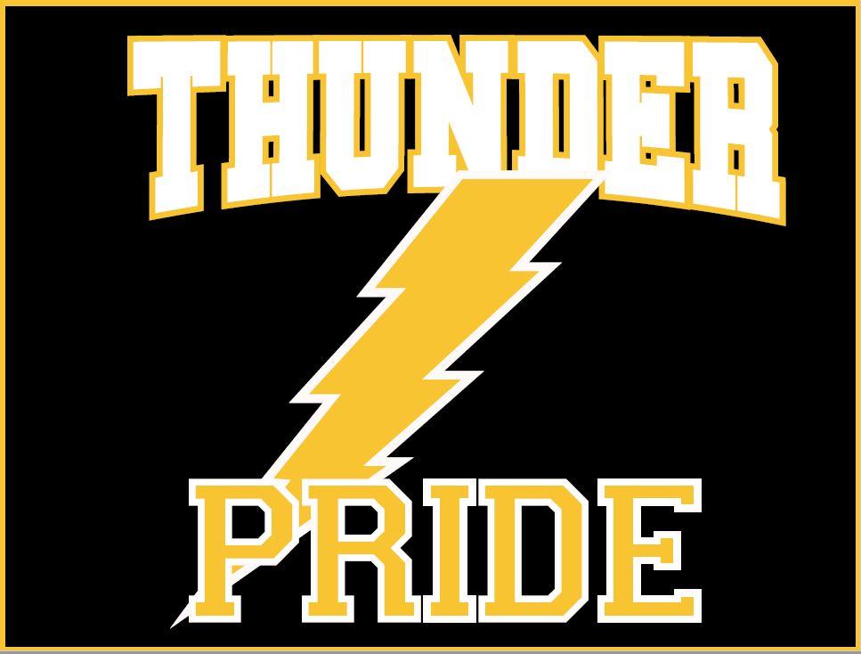 Image of Thunder Pride Yard Sign
